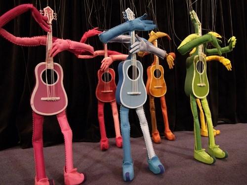 guitars guitar puppets puppets - 7749385472
