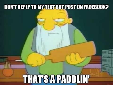 texts,facebook