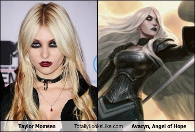 angel,taylor momsen,totally looks like,avacyn,funny