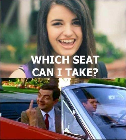 mr-bean FRIDAY Rebecca Black funny