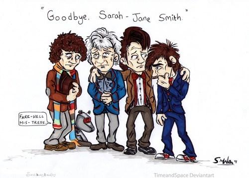 classic who Fan Art doctor who sarah jane smith - 7749786368