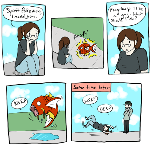 magikarp comics spirit pokemon