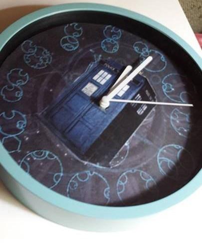 clocks Fan Art tardis doctor who - 7749858048