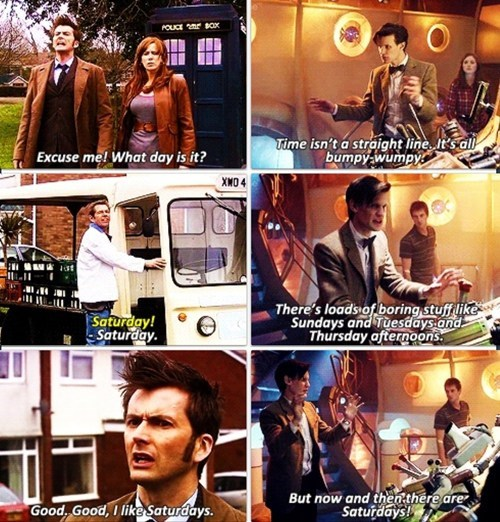 saturdays,weekends,doctor who