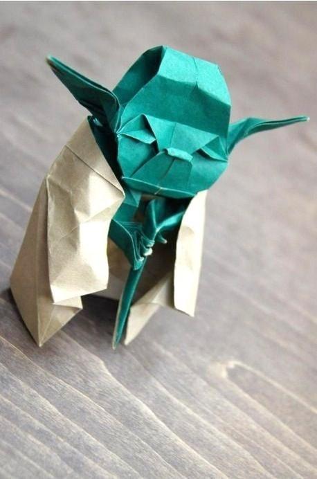 Star wars origami yoda book | 692x458