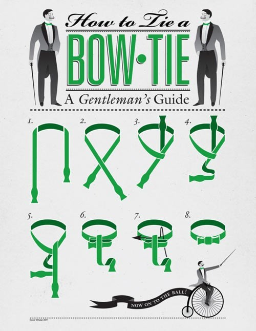 guide bow tie How To - 7751860224
