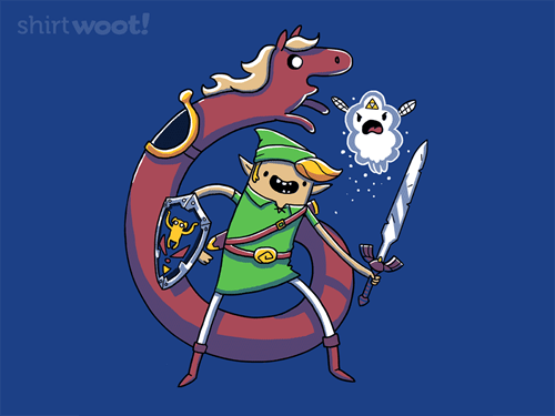 crossover legend of zelda for sale t shirts cartoons video games adventure time - 7751878912