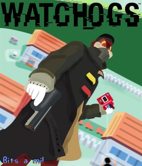 Pokémon watchog watch dogs video games - 7751892736
