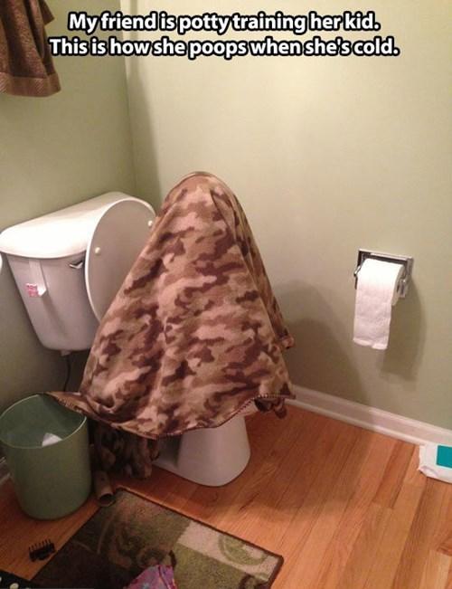 poop,toilet,blanket