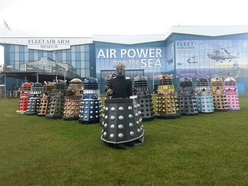 IRL daleks doctor who - 7752033280