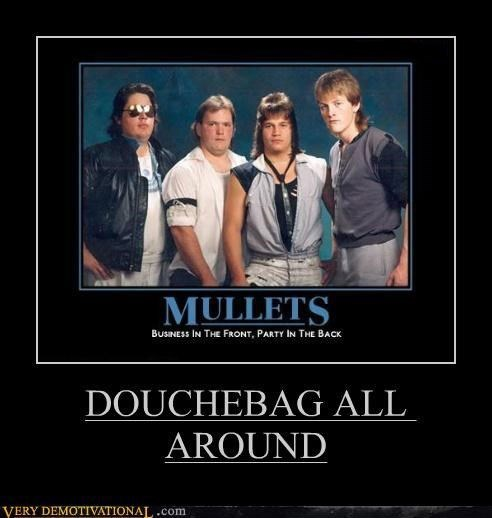 douche mullet funny - 7752166656