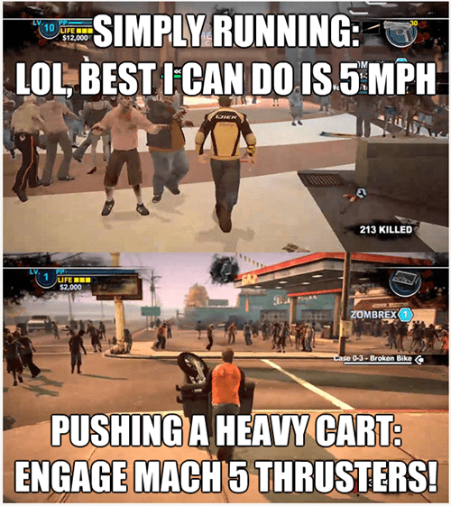 Dead Rising,video game logic