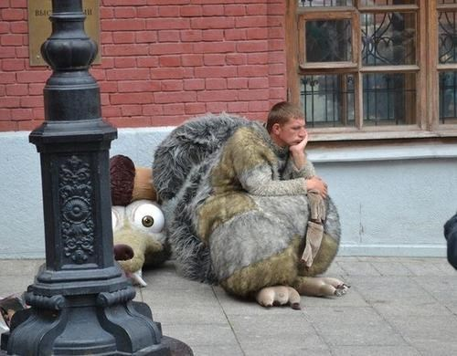 wtf,cosplay,IRL,movies,ice age