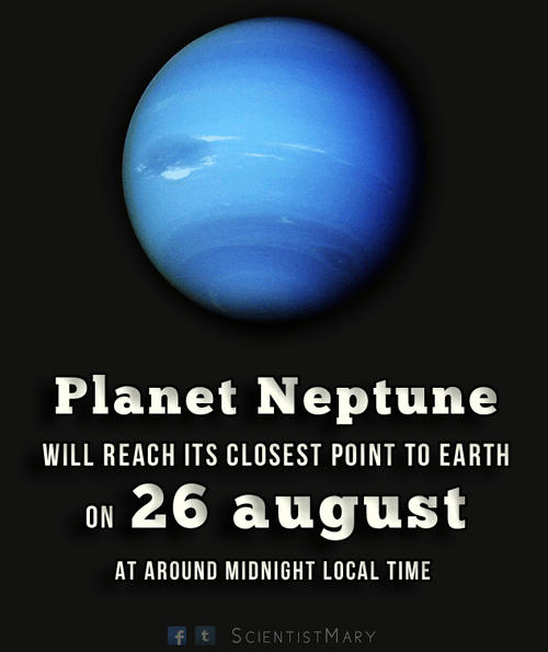 Planet Neptune Is Coming Closer!