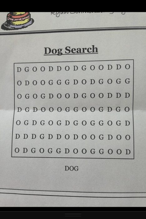 puzzles word search dog search - 7752365312