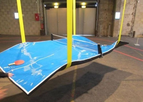melting tables hot days ping pong tables - 7752366592
