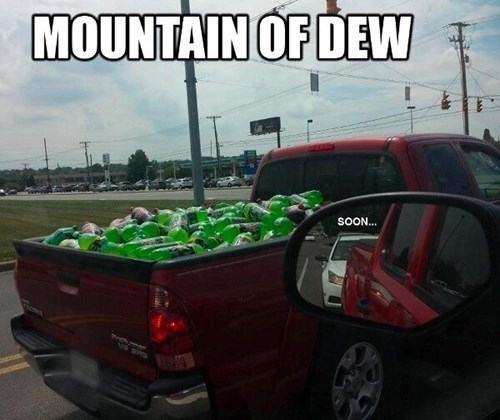 soda,gaming,mountain dew,wordplay