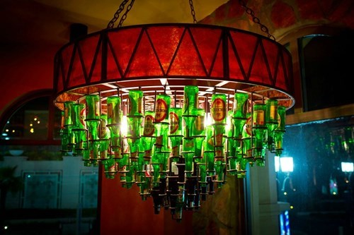beer art chandelier funny - 7752385536
