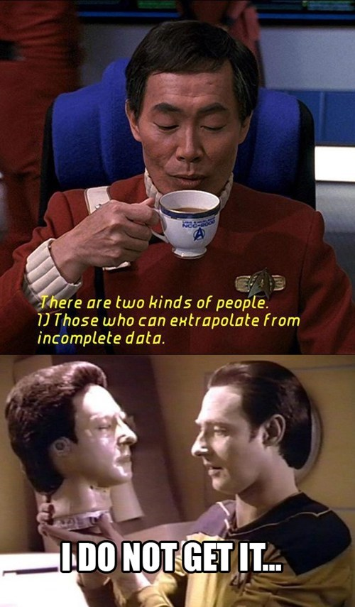 TNG data Star Trek sulu george takei - 7752504576