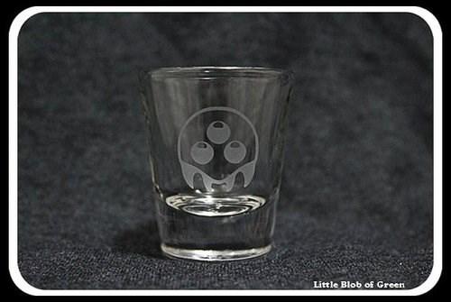 shot glass Metroid funny - 7752545024
