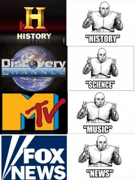 history,lies,TV,science,funny