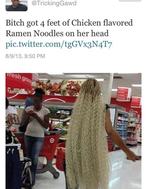 ramen food weave poorly dressed