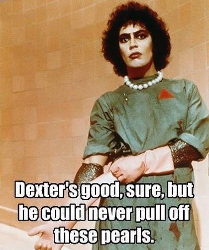 rocky horror rhps Dexter dr frank n furter - 7753486592