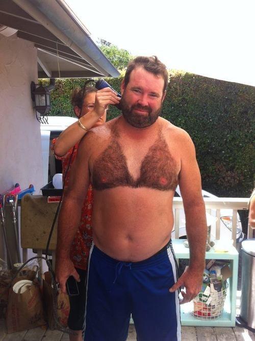 fur bra shave bikini