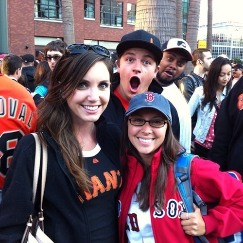 photobomb giants funny red sox