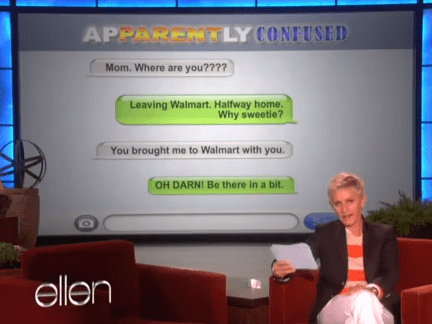 text,parenting,ellen,funny