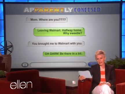 text parenting ellen funny - 7753559808