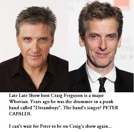 Peter Capaldi craig ferguson - 7753560832