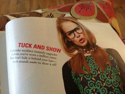 fashion tuck advice show - 7753582336