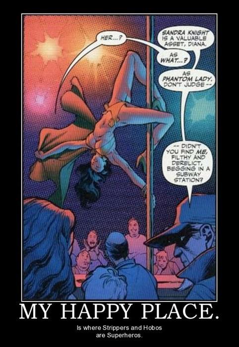 strippers hobos superheroes funny - 7753716992