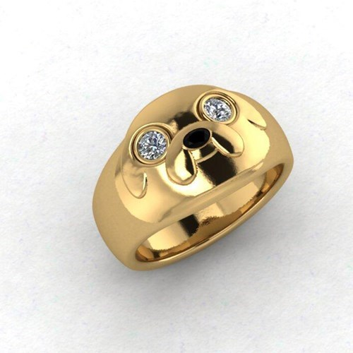 rings Jake the dog accessories cartoons adventure time - 7753745664