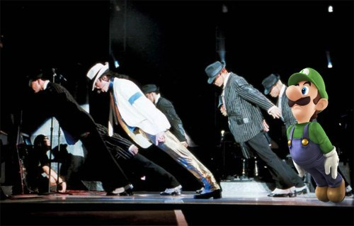 michael jackson,luigi,smooth criminal
