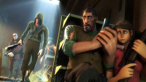 valve naughty dog Team Fortress 2 the last of us - 7753766144