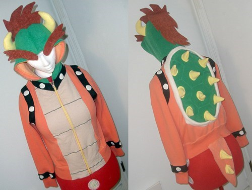 bowser hoodies video games - 7753773312