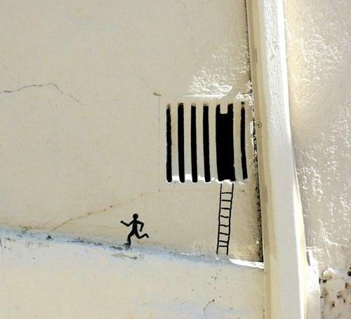 Street Art graffiti hacked irl funny oakoak - 7753957888