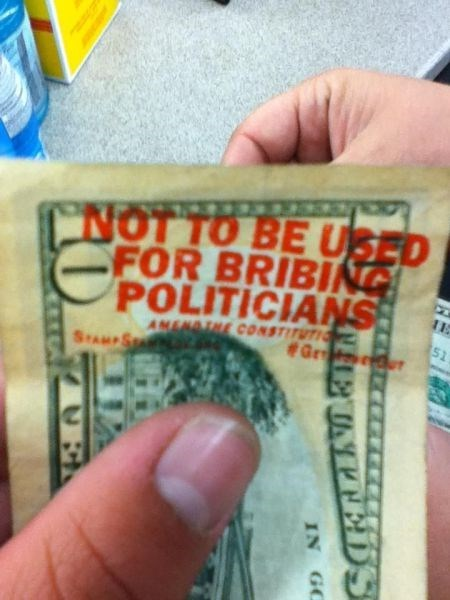 hacked irl funny money politics