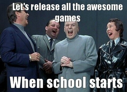 school year,evil,video games,funny