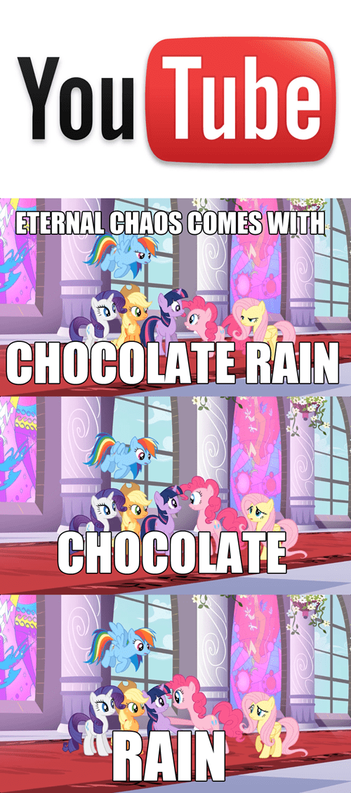 youtube,pinkie pie,chocolate rain