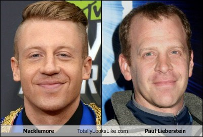 toby the office paul lieberstein Macklemore totally looks like