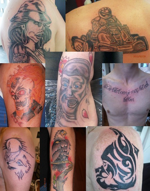 holland,tribal,compilation,funny,g rated,Ugliest Tattoos