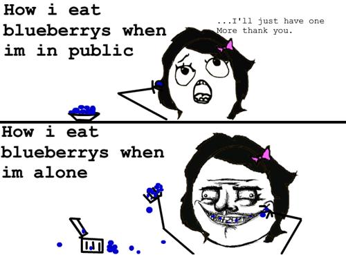 blueberries,me gusta