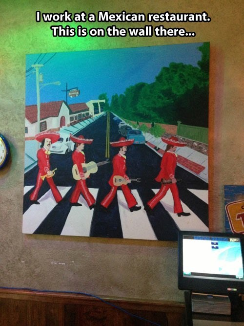 Mexican beatles mexico abbey road Music g rated - 7754919680