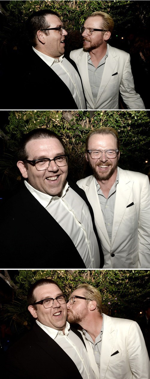 Nick Frost Simon Pegg Party the-worlds-end