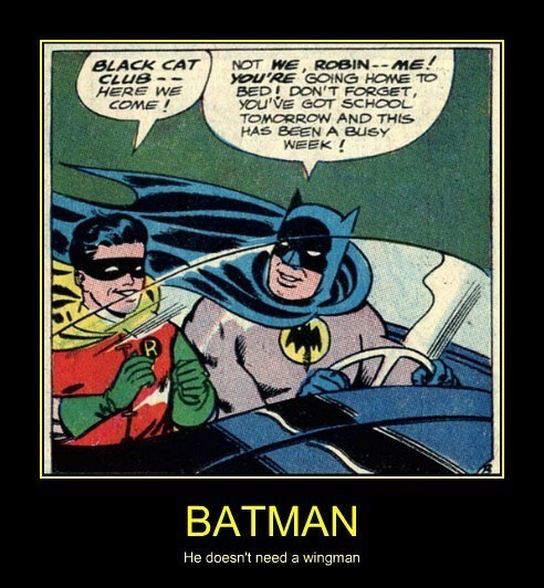 robin very demotivational batman - 7754992384