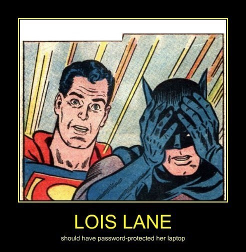 very demotivational batman superman - 7754993408