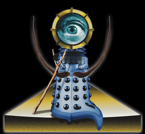 crossover,salvador Dali,daleks,doctor who